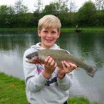 Fisketur med Jonas